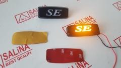 Заглушки SE черные с подсветкой