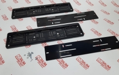 Быстросъемные пластиковые номерные рамки SalMan на магнитах