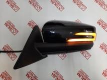 Комплект зеркал ВАЗ 2170-2110 в стиле Лада Гранта с двойным динамическим повторителем ПЛАЗМА AMG