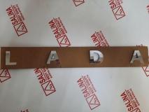 Орнамент-шильдик L A D A нового образца Хром