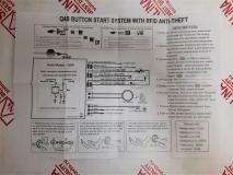 Кнопка СТАРТ/СТОП для запуска двигателя с иммобилайзером