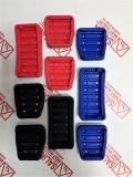Накладки на педали Sal-Man хром с резиновыми вставками для Лада Веста МКПП