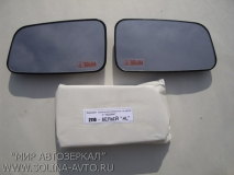Зеркальные элементы ВАЗ 2110, белый (хром)