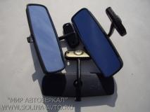 Зеркало внутрисалонное ВАЗ 2103, 2110, Димитровград, голубой, антиблик
