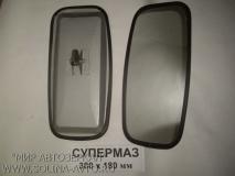Грузовые зеркала - Супермаз металл 380х180