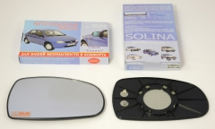 Зеркальные элементы на рамке ВАЗ 1118