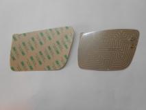 Нагревательный элемент (плата обогрева) 2170 ПРИОРА нового образца, для зеркала с повторителем поворота