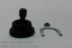Ручка регулировки для зеркал с тросовым приводом со скобой фиксатором