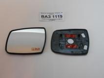 Зеркальный элемент на рамке ВАЗ 1118 КАЛИНА (ЛАДА-ГРАНТА) в корпус