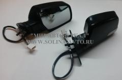Зеркало ВАЗ 2108 электропривод, обогрев, повторитель поворота, ИНТЕХ