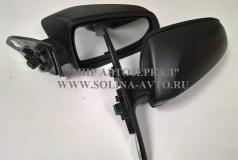 Зеркало заднего вида ВАЗ 2180 Лада ВЕСТА электропривод, обогрев, повторитель поворота, окрашенное