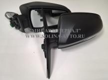 Зеркало заднего вида ВАЗ 2180 Лада ВЕСТА электропривод, обогрев, повторитель поворота, неокрашенное