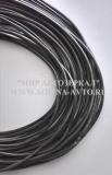 Кембрик ПВХ черный диаметр 6 мм