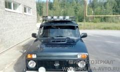 Зеркало ВАЗ 21214 НИВА нового образца электропривод, обогрев, неокрашенное