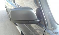 Зеркало ВАЗ 21214 НИВА нового образца тросовый привод, обогрев, неокрашенное