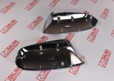 Облицовка зеркала заднего вида ВАЗ 21214 Нива на зеркало нового образца ХРОМ