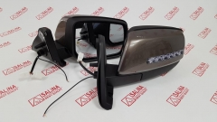 Комплект зеркал ВАЗ 21214 нового образца, электропривод, обогрев, повторитель в стиле Лексус и ДХО