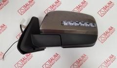 Комплект зеркал ВАЗ 21214 нового образца, тросовый привод, обогрев, повторитель в стиле Лексус и ДХО