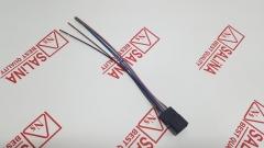 Разъем электрозеркала с повторителем Приора с проводами