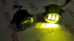 LED противотуманные фары на Весту, Гранту FL, Ниву Урбан, Икс Рей, Рено