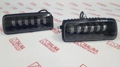 Светодиодные LED подфарники Sal-Man с ДХО, бегающим поворотником для Лада Нива 4х4, URBAN, BRONTO