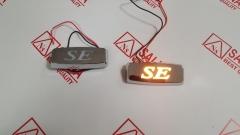 Заглушки SE хром с подсветкой