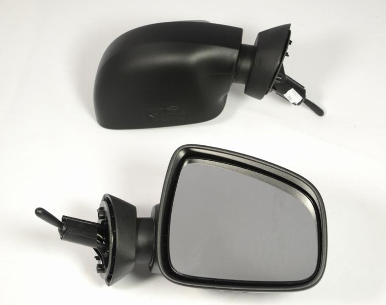 Зеркала заднего вида на рено логан
