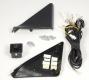 Комплект фурнитуры к зеркалам ВАЗ 2170 ПРИОРА: уголки, джостик, жгуты, разъемы